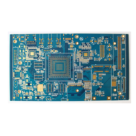 Blue oil OSP double-layer board